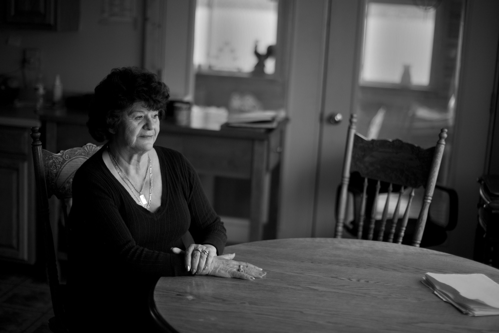 Mary Creighton says her upcoming trial for aggravated forgery is retribution for attempting to reform the reservation's politics. 2014 Telegram File Photo/Gabe Souza