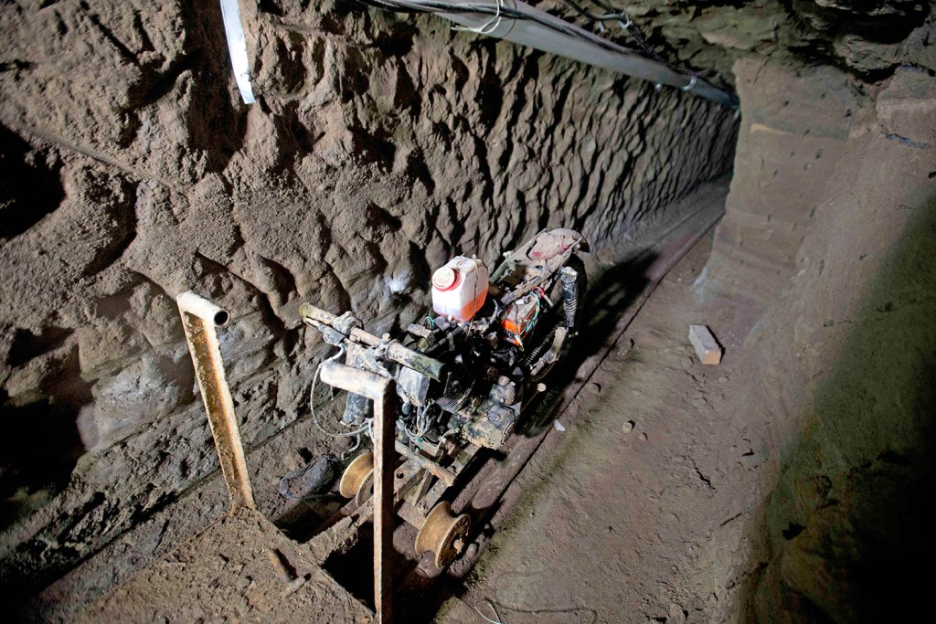 El Chapo S Escape Tunnel Is Audacious Engineering Feat