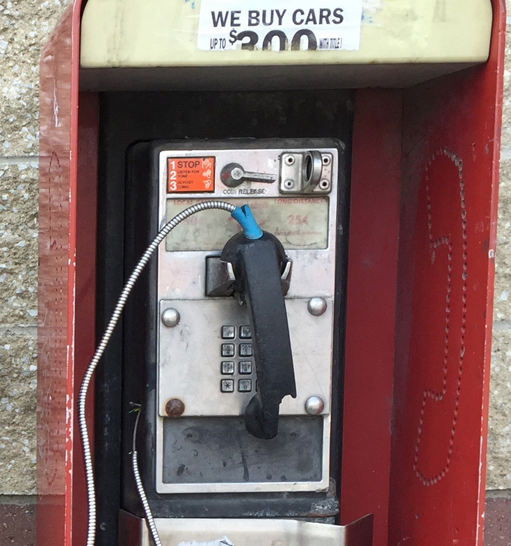 Pay phones gradually becoming ring of the past - Portland