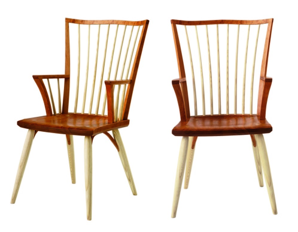 Catena chairs from Thos. Moser.