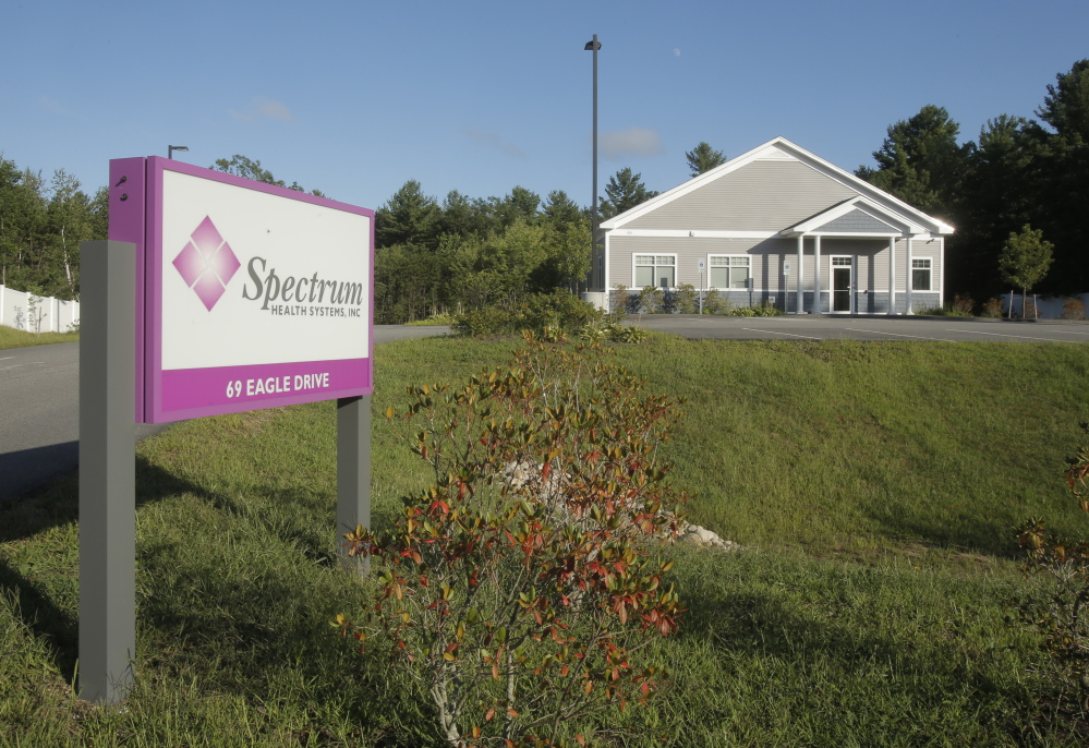 Spectrum Health Systems Inc. announced that it will soon close its drug treatment center in Sanford, citing a lack of government support.