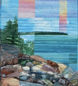 """""""VIEW FROM THE ROCKS"""" BY CATHERINE WORTHINGTON"""
