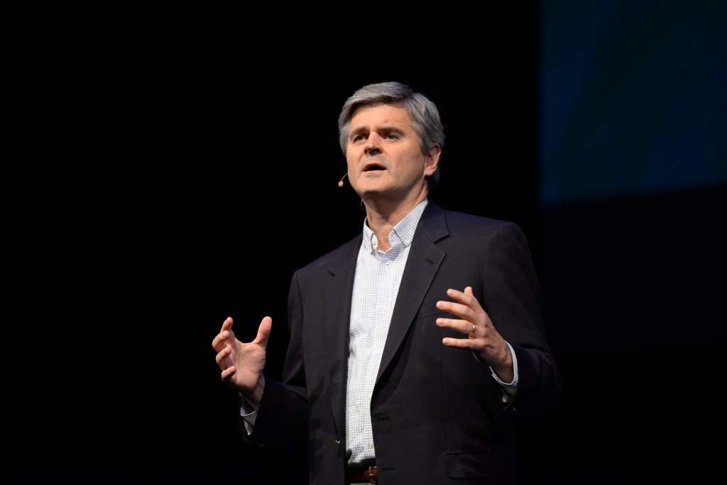 Steve Case during his Rise of the Rest tour stop in Nashville