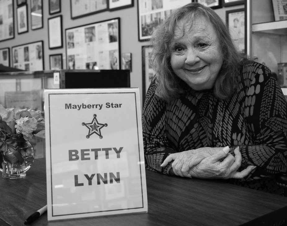 Betty Lynn at the Andy Griffith Museum in 2013.