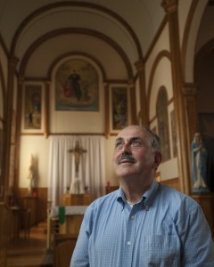 """George Dionne of Grand Isle, a bus trip organizer, says, """"This pope is a breath of fresh air for the Catholic Church."""""""
