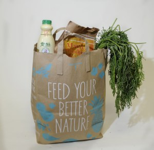 STILL NOT GOOD: A paper bag will eventually decompose, but because of the environmental costs associated with making it, it's still not a good choice.
