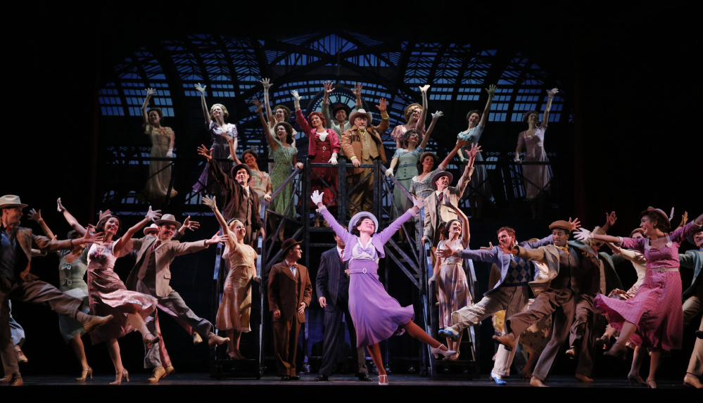 """Portland Ovations brought the touring company of """"42nd Street"""" to Merrill Auditorium in Portland in 2015. Portland Ovations is among the arts organizations whose productions are attended by students as part of the Culture Club program."""