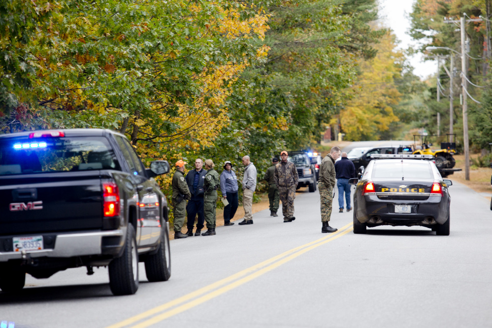 Police resumed their search off Maquoit Road in Brunswick Wednesday for a missing woman. Lisa Marie Cox, 30, walked away from her home following an argument Monday night.