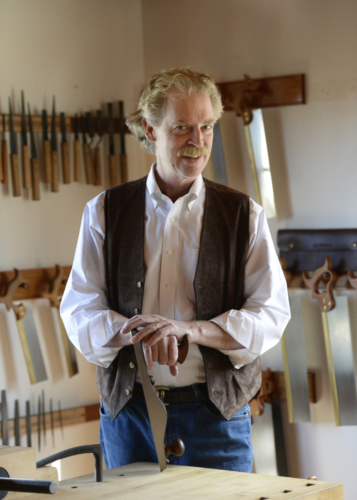 Thomas Lie-Nielsen's on a different plane in crafting tools