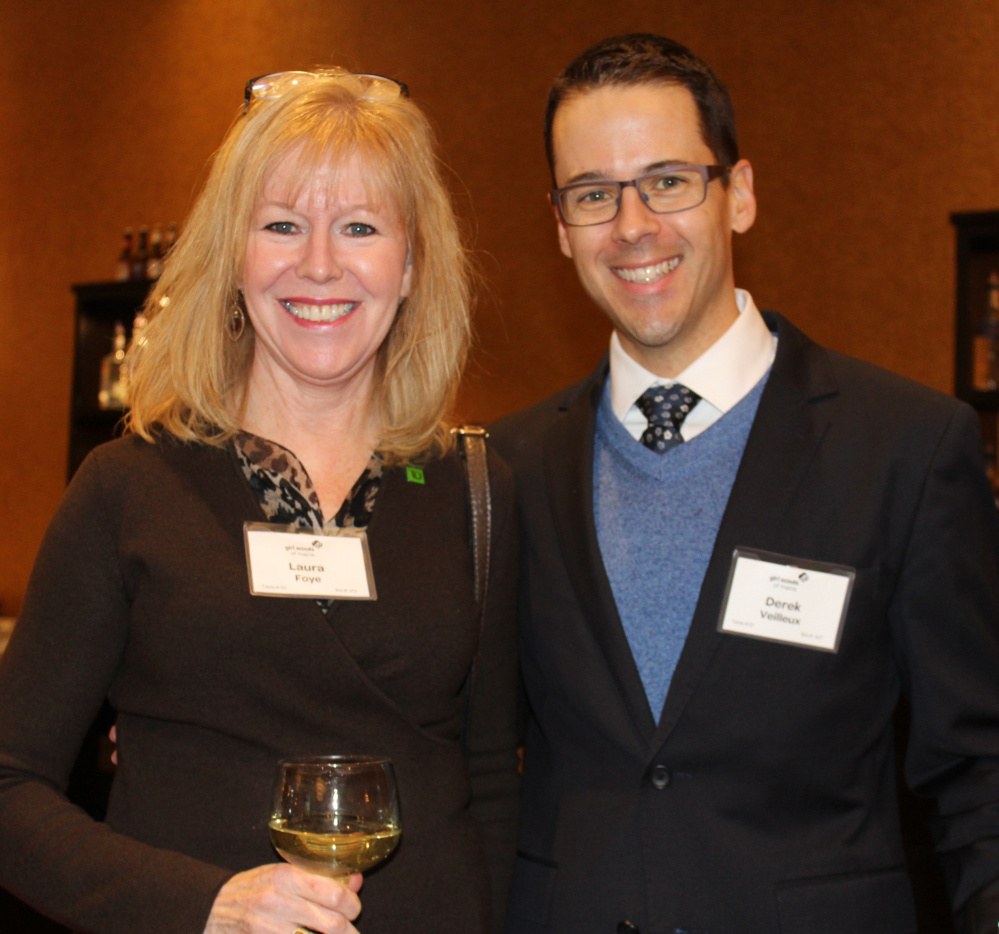 Lauren Foye of TD Bank and Derek Veilleux, principal architect with SMRT.