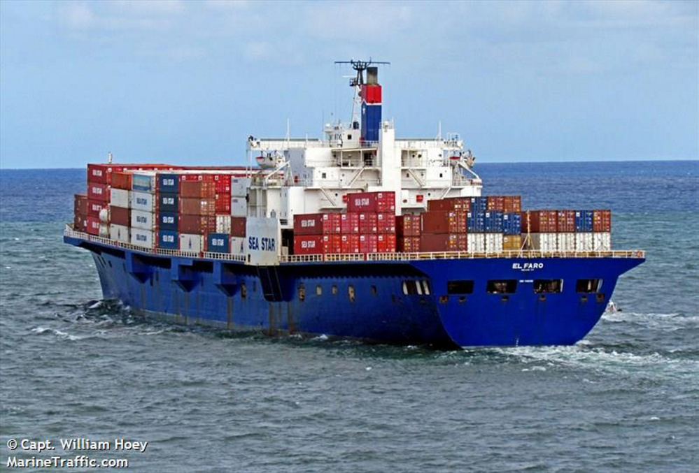 """CBS plans to air video images of the sunken El Faro on """"60 Minutes"""" Sunday night."""