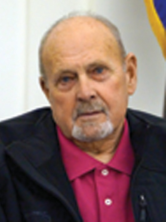 Former Sanford City Councilor Richard Wilkins, shown here in a 2012 photo, previously served as Sanford's public works director for 16 years – 27 years total as a city employee. Wilkins, 80, died Saturday.