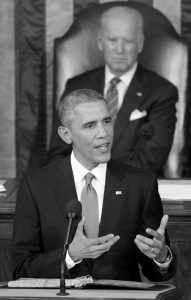 PRESIDENT BARACK OBAMA delivers his State of the Union address to a joint session of Congress on Capitol Hill in Washington, as Vice President Joe Biden listens, in this Jan. 20, 2015 file photo. Obama had some high profile victories last year, but his State of the Union proposals were not among them.