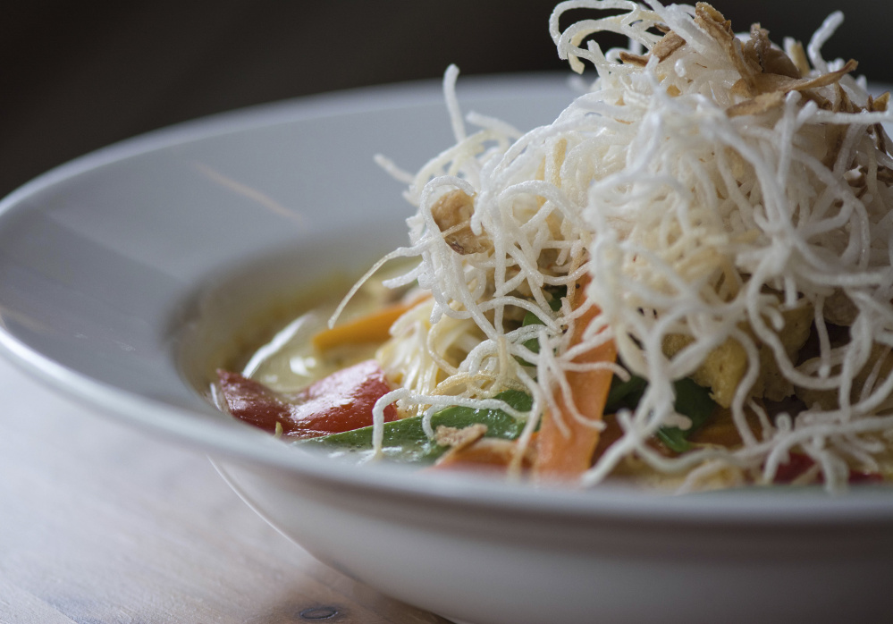 A curry noodle dish called Siamese Dream. Courtesy photo