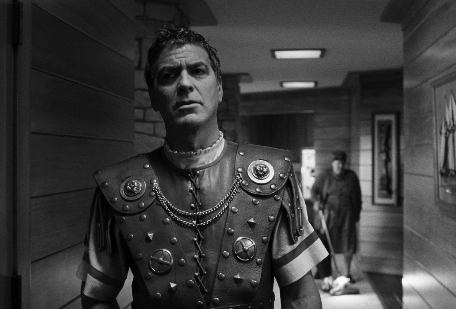 "George Clooney portrays Baird Whitlock in the film ""Hail, Caesar!"""