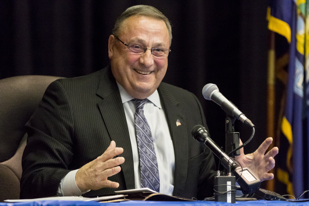 Gov. Paul LePage's next town hall meeting is scheduled Wednesday in Madison.