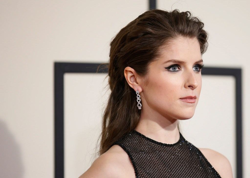 """Actress Anna Kendrick arrives at the 58th Grammy Awards in Los Angeles in this Feb. 15 file photo. Kendrick was recently invited to be a guest editor for """"Eat, Drink, Lucky."""""""