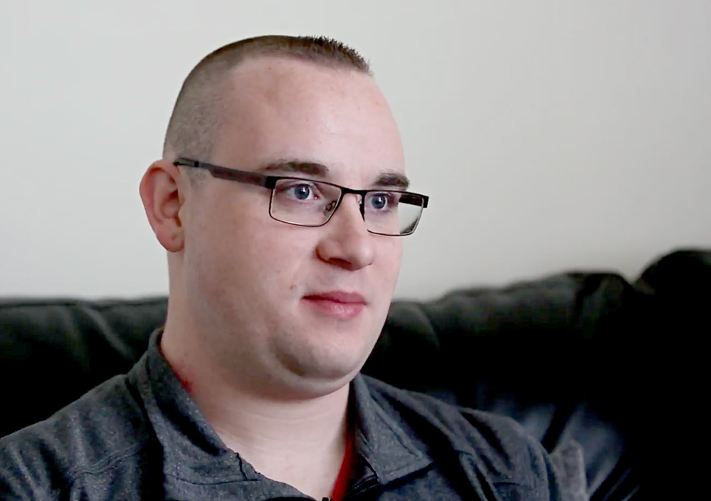 Kyle Snyder enrolled in Opportunity Passport three years ago. The matched savings program helped him put a deposit on an apartment in Biddeford.