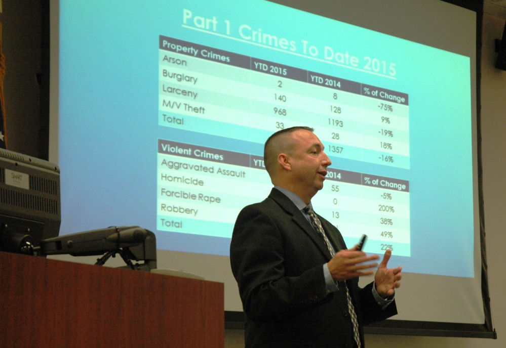 Portland Police Chief Michael Sauschuck and other Maine law enforcement leaders are calling for a different approach to fighting the drug epidemic.