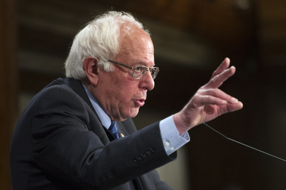 """Former Democratic presidential candidate Sen. Bernie Sanders spoke to delegates about """"the platform and he talked about the issues,"""" says Ralph Carmona, a Maine delegate from Portland who has supported Hillary Clinton."""