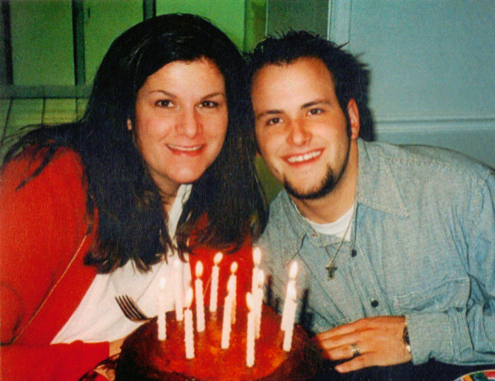 Jeremy Kennedy of Portland and his mother, Cheryl, who died in 2010 of an overdose of prescription painkillers.
