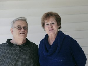 Kathy Jackson had an aneurism and then a stroke three and a half years ago. She lives in South Gardiner with her husband. Bob, with whom she will be celebrating a 50th wedding anniversary this July.