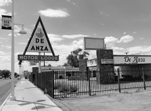 THE CLOSED DE ANZA MOTOR LODGE sits along Route 66 in Albuquerque, New Mexico, in this June 24 photo, and recently has been highlighted as one of the few places that allowed black travelers to stay during segregated times. Black travelers for decades needed a guide known as the Green Book to help locate the few motels and restaurants that would serve them. Now a writer is hoping to bring attention to the businesses along the historic Route 66 that once provided safe havens for black travelers who braved the road for simple family vacations.