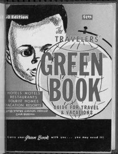THE TRAVELERS' GREEN BOOK from around 1960.