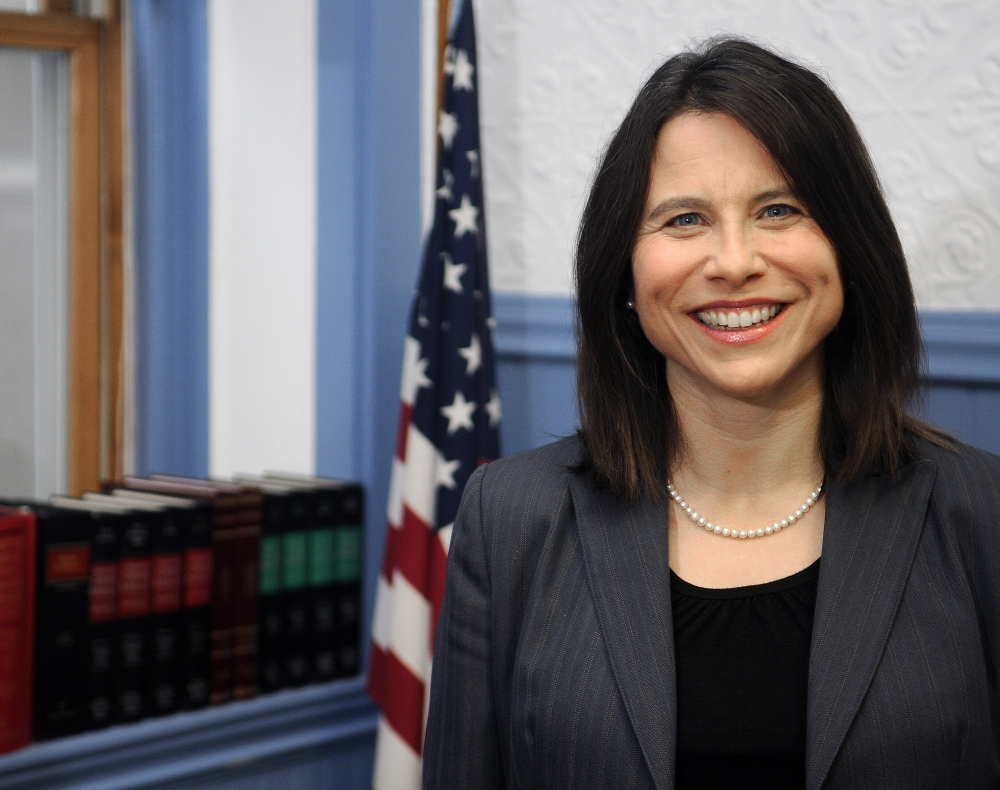 Somerset and Kennebec counties District Attorney Maeghan Maloney