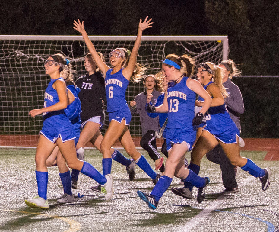 Falmouth stuns Yarmouth as time expires in overtime