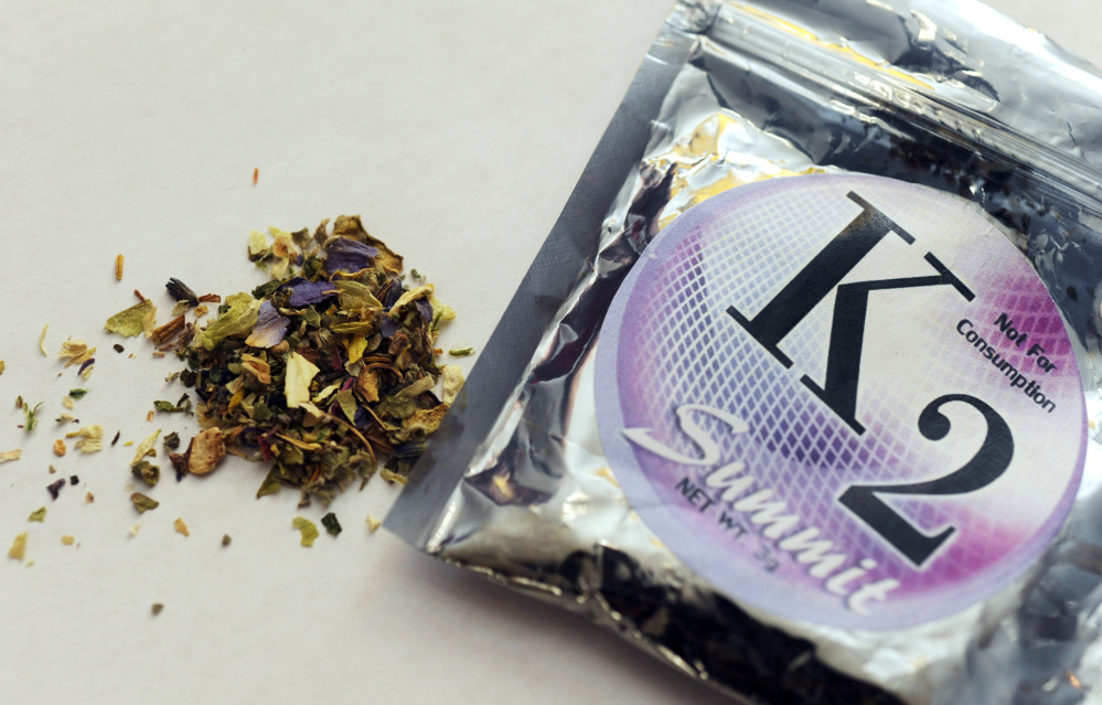 Synthetic 'zombie' drug spice poses enforcement problem in Portland