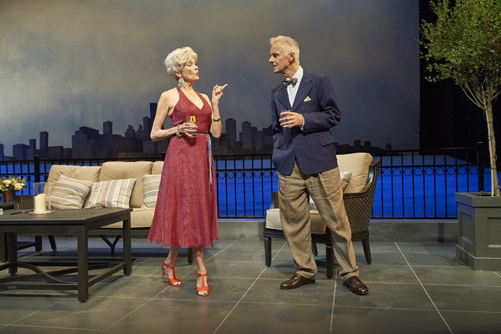"Rae C. Wright and John Hadden in ""Later Life."""