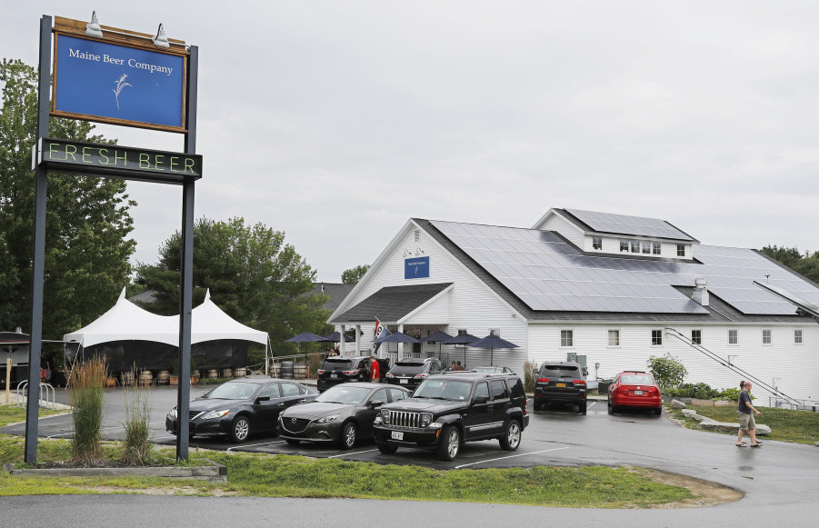 Maine Beer Co. started in Portland and moved to Freeport, above, in 2013. It has drawn national attention from beer aficionados, particularly for an India pale ale called Lunch.