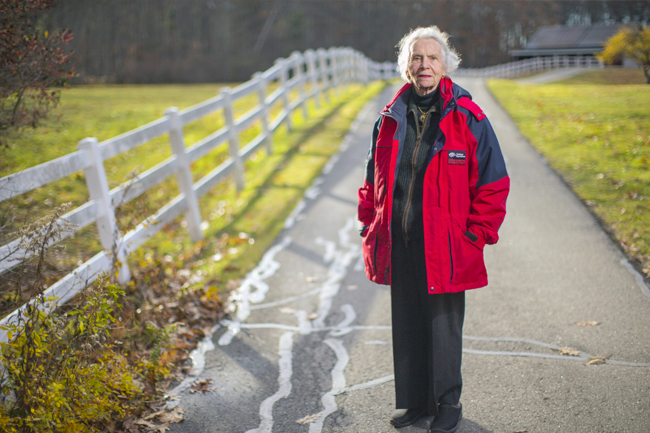 """Farming is my blood,"" says Helen Norton, of Harpswell."