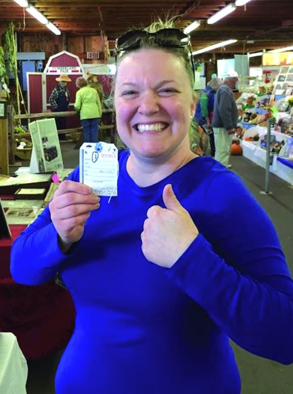 Lindsey Green of Saco started baking apple pies and entering them for judging at the Cumberland Fair in 2010. This is the first year she won the blue ribbon there and has advanced to state-level competition this Sunday at the Maine Harvest Festival in Bangor. Submitted photo