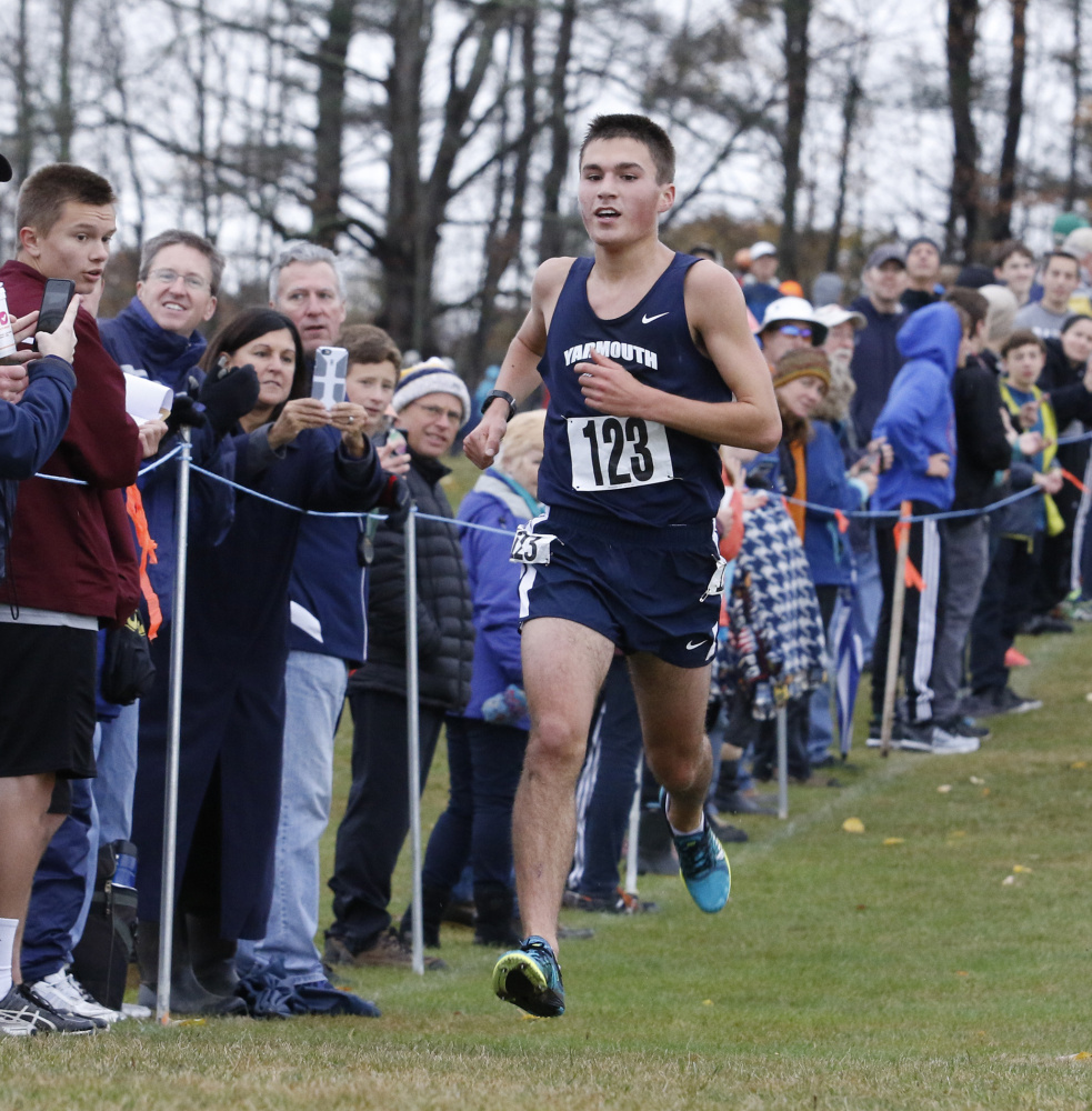 Luke Laverdiere's victories this fall included the Festival of Champions, a second straight Class B South championship, and his first cross country state title. He also was the top Mainer at the Foot Locker Northeast Regional.