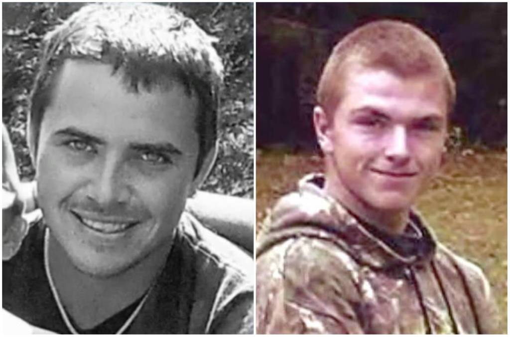 Tomas Hammond, left, and Tyler Sawyer died when the lobster boat No Limits sank west of Matinicus.