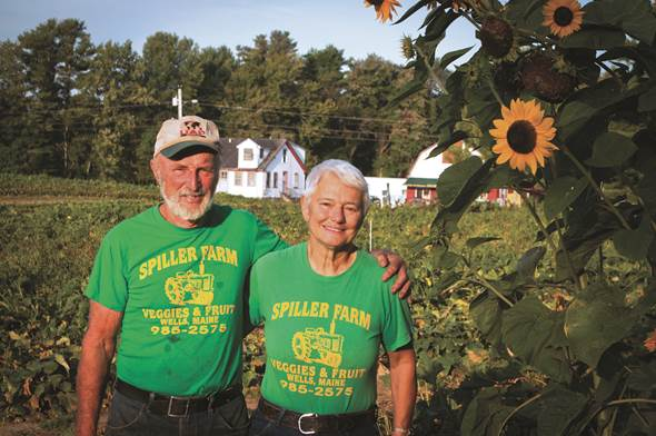Bill and Anna Spiller of Spiller Farm in Wells have recently completed a conservation easement with Great Works Regional Land Trust, preserving their farmland on Branch Road. The couple grow strawberries and raspberries, apples and vegetables on the 110 acre parcel. Photo /Courtesy GWRLT