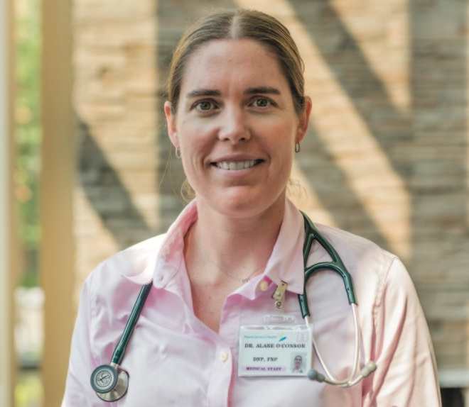 """""""It's a grueling, hard job, I'm not going to lie,"""" said Alane O'Connor, a nurse practitioner from Waterville and an addiction specialist who dispenses Suboxone as part of her practice."""