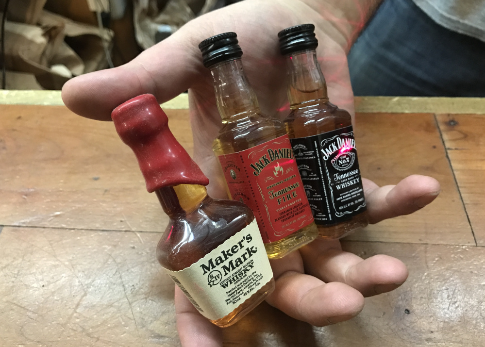 Sales of the 50 milliliter bottles known as nips have risen by up to 40 percent at state liquor agency stores over the past five years, and are expected to surpass 12 million bottles this fiscal year.