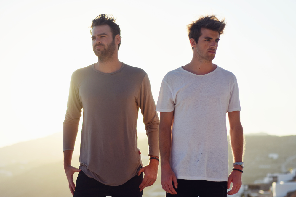 Alex Pall, left, and Drew Taggart are The Chainsmokers.