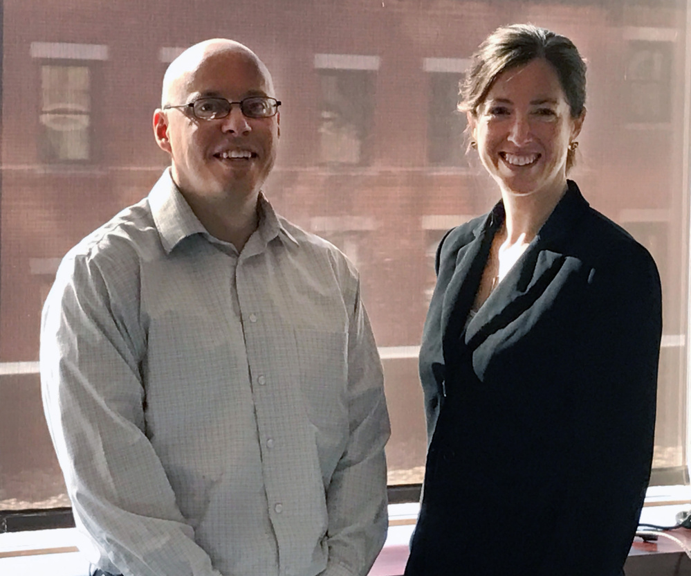 Economists Michael LeVert and Kate Reilly deLutio opened their own consultancy after sensing a void in Maine's market.