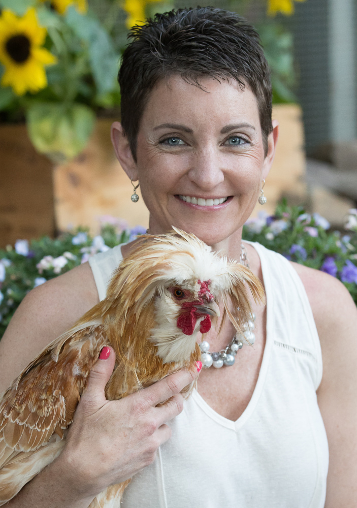 "Kathy Shea Mormino calls sweaters for chickens ""inappropriate."""