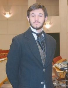 """ELLIOTT NAGLER, in his costume for the role of Jean Valjean in Brunswick High School's production of """"Les Miserables."""""""