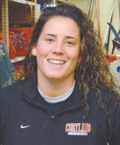 SAMANTHA DIAMOND was recently hired to replace longtime girls varsity lacrosse coach Sam Chard at Mt. Ararat High School. Diamond is in her second year on staff as a physical education teacher.