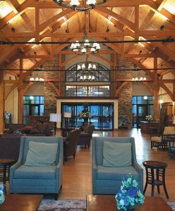 THIS PHOTO shows the lodge at the Stonewall Resort in Roanoke, West Virginia.