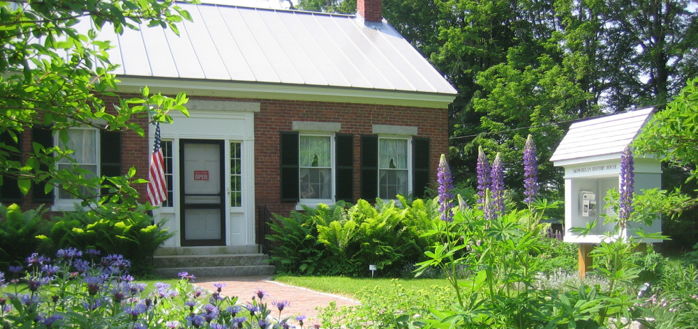 Skowhegan History House, Museum and Research Center on Elm Street in Skowhegan.