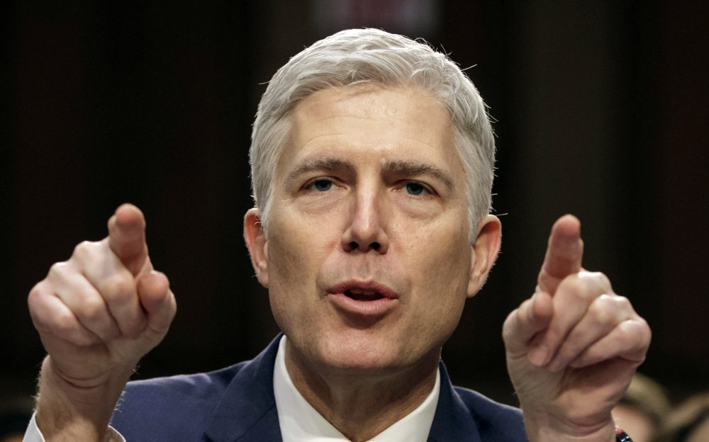 """Justice Neil Gorsuch: """"No one should be surprised that the Constitution looks unkindly on any law so vague that reasonable people cannot understand its terms and judges do not know where to begin in applying it."""""""