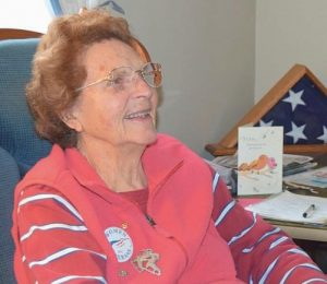 ALICE JOHNSON, a WWII Navy veteran, will serve as the Brunswick-Topsham Memorial Day Parade Grand Marshal.