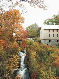 """THIS PHOTO shows the restored 19th century mill in the tiny town of Freedom, Maine, where The Lost Kitchen restaurant is located. Restaurant owner and chef Erin French has just come out with a cookbook called """"The Lost Kitchen"""" that offers recipes and tells the remarkable story of her career from a teenager working in her dad's diner to giving dinner parties in her apartment to running the wildly successful 40-seat restaurant."""